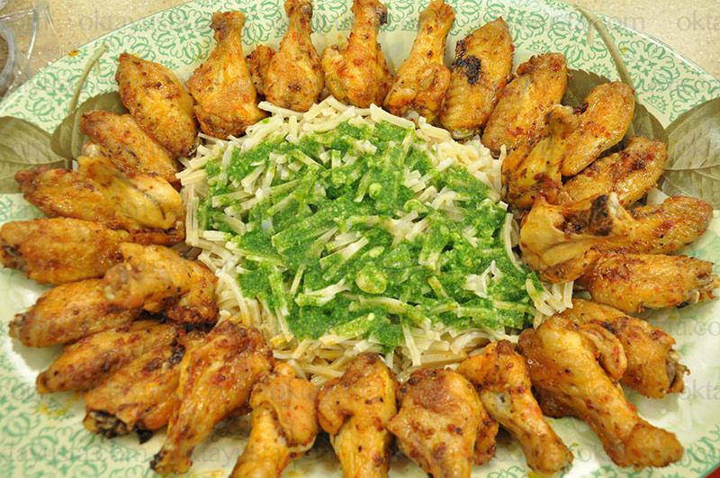 Baharatlı Tavuk Kanat
